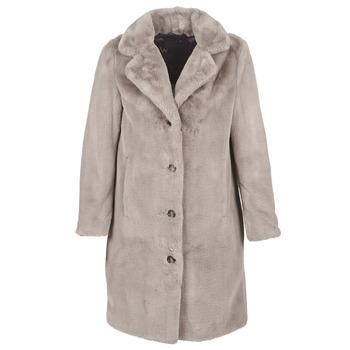 Textil Ženy Kabáty Oakwood CYBER Tmavá / Béžová