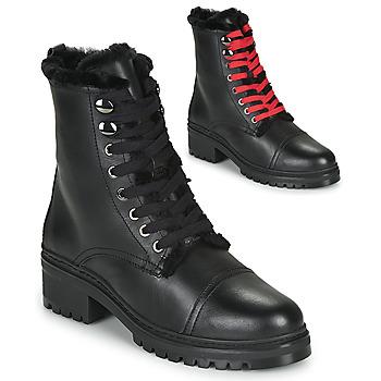 Boty Ženy Kotníkové boty Unisa IRACHE Černá