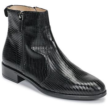 Boty Ženy Kotníkové boty Unisa BRAS Černá