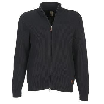 Textil Muži Svetry / Svetry se zapínáním Dockers NEW FULL ZIP Černá