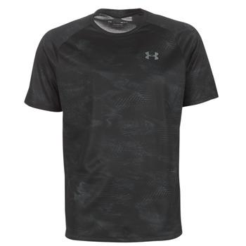 Textil Muži Trička s krátkým rukávem Under Armour TECH 2.0 SS PRINTED Černá