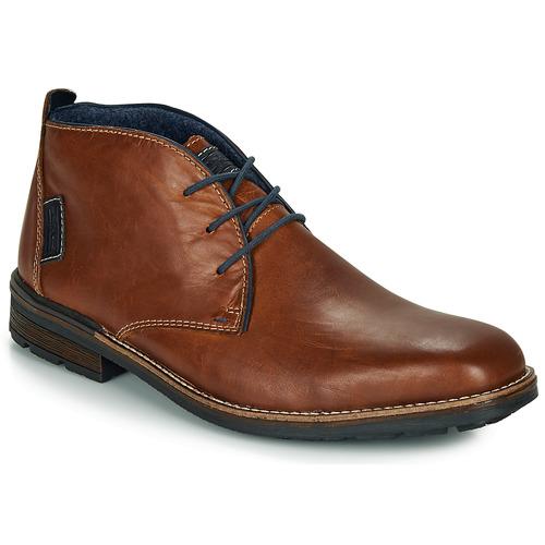 Boty Muži Kotníkové boty Rieker F1310-26 Hnědá