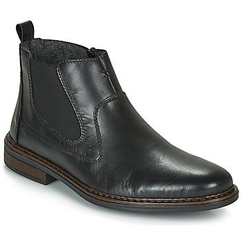 Boty Muži Kotníkové boty Rieker DANE Černá