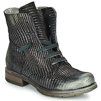 Boty Ženy Kotníkové boty Papucei MAURA BLACK SILVER Černá