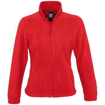 Textil Ženy Fleecové bundy Sols NORTH POLAR WOMEN Rojo