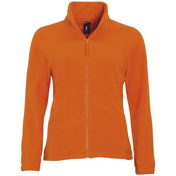 Textil Ženy Fleecové bundy Sols NORTH POLAR WOMEN Naranja