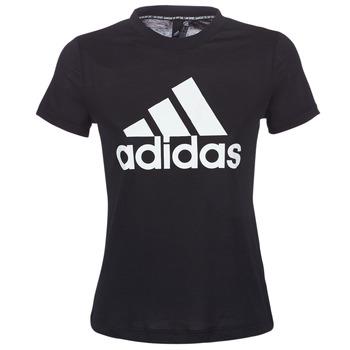 Textil Ženy Trička s krátkým rukávem adidas Performance DY7734 Černá