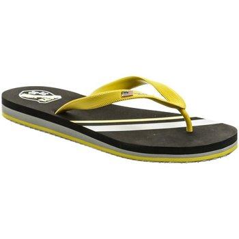 Boty Chlapecké Žabky U.S Polo Assn. U.S. Polo Assn. Triker černo žluté pánské žabky Černá/žlutá