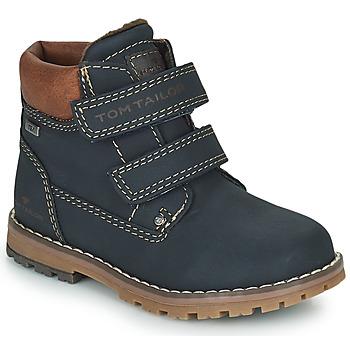 Boty Chlapecké Kotníkové boty Tom Tailor  Modrá