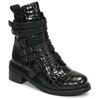 Boty Ženy Kotníkové boty Mimmu RIPTILUS Černá