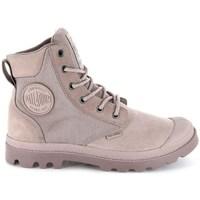 Boty Ženy Kotníkové boty Palladium Pampa Sport Cuff Wpn Šedé