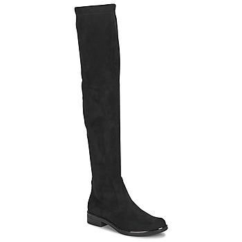 Boty Ženy Vysoké kozačky nad kolena Caprice LITIA Černá