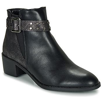 Boty Ženy Kotníkové boty Moony Mood FLOURETTE Černá