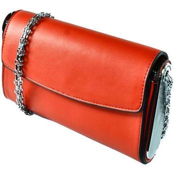 Taška Ženy Večerní kabelky John-C Dámska červená kabelka AVORA červená