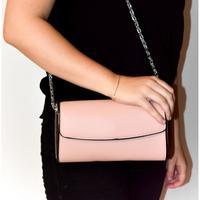 Taška Ženy Večerní kabelky John-C Dámska ružová kabelka AVORA hnedá
