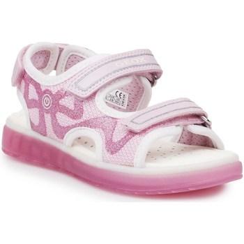 Boty Děti Sportovní sandály Geox J Sblikk GB Růžové