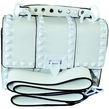 Taška Ženy Tašky přes rameno John-C Dámska biela kabelka RECHO biela
