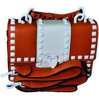 Taška Ženy Tašky přes rameno John-C Dámska oranžová kabelka RECHO oranžová