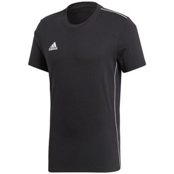 Textil Muži Trička s krátkým rukávem adidas Originals Core 18 Černá