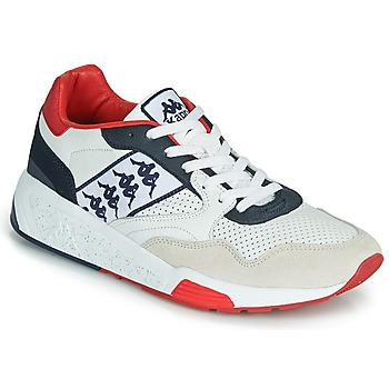 Boty Muži Nízké tenisky Kappa LUXOR 2 Bílá / Červená