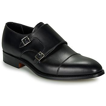 Boty Muži Šněrovací společenská obuv Barker FORD Černá