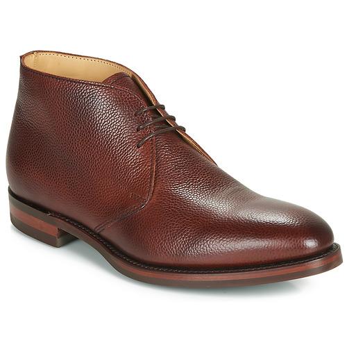Boty Muži Kotníkové boty Barker OAKNEY Bordó