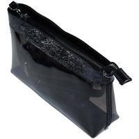 Taška Ženy Tašky přes rameno John-C Dámska čierna kabelka DELIX čierna