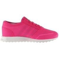Boty Dívčí Nízké tenisky adidas Originals Los Angeles C Růžové