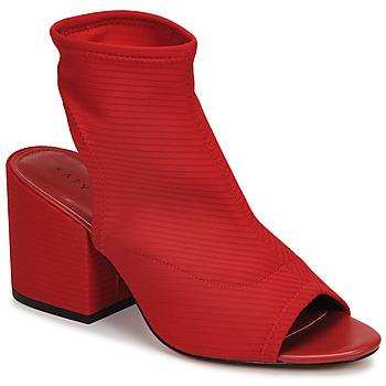 Boty Ženy Polokozačky Katy Perry THE JOHANNA Červená