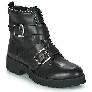 Boty Ženy Kotníkové boty Steve Madden HOOFY Černá