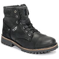 Boty Chlapecké Kotníkové boty Bullboxer AHA518E6L-BLCK Černá