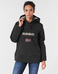 Textil Ženy Parky Napapijri RAINFOREST WINTER Černá