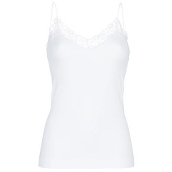 Spodní prádlo  Ženy Tílka  Pieces PCTOLOA Bílá