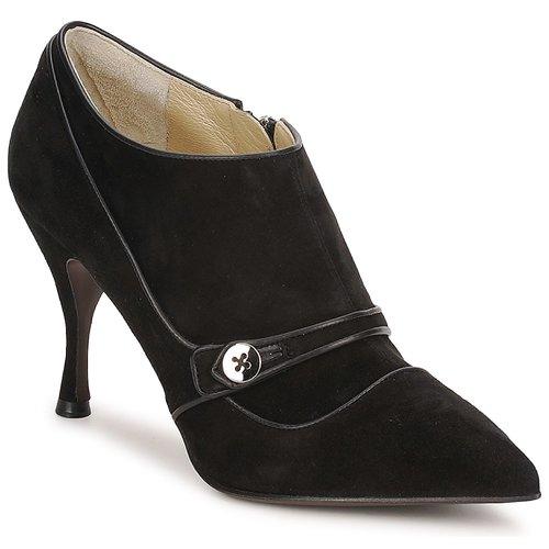 Boty Ženy Nízké kozačky Marc Jacobs MJ19138 Černá