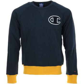 Textil Muži Mikiny Champion Crewneck Sweatshirt Modrá