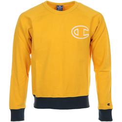Textil Muži Mikiny Champion Crewneck Sweatshirt Žlutá
