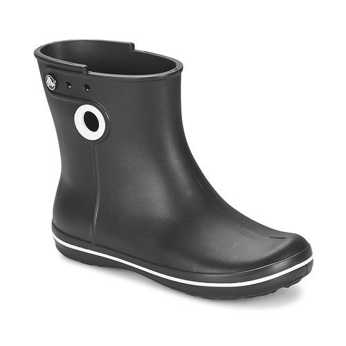 Boty Ženy Holínky Crocs JAUNT SHORTY BOOT W-BLACK Černá