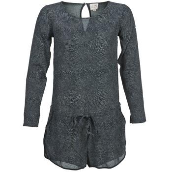 Textil Ženy Overaly / Kalhoty s laclem Petite Mendigote LOUISON Černá / Šedá