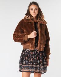 Textil Ženy Bundy Pepe jeans RACHEL Hnědá