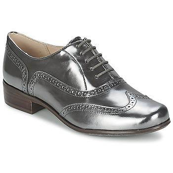 Boty Ženy Šněrovací společenská obuv Clarks HAMBLE OAK Stříbřitá