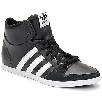 Boty Muži Kotníkové tenisky adidas Originals ADILAGO MID Černá / Bílá