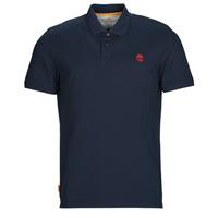 Textil Muži Polo s krátkými rukávy Timberland SS MR Polo Slim DARK SAPPHIRE Tmavě modrá