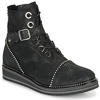 Boty Ženy Kotníkové boty Regard ROCTALY V2 CRTE SERPENTE SHABE Černá