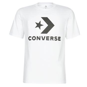 Textil Muži Trička s krátkým rukávem Converse STAR CHEVRON Bílá