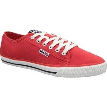 Boty Muži Nízké tenisky Helly Hansen Fjord Canvas Shoe V2 červená