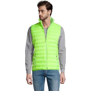 Textil Muži Oblekové vesty Sols WAVE LIGHTWEIGHT MEN Verde