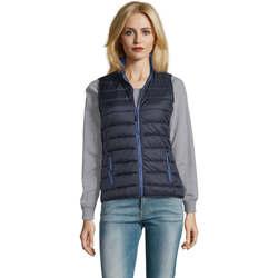 Textil Muži Oblekové vesty Sols WAVE LIGHTWEIGHT MEN Azul