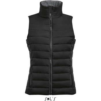 Textil Ženy Oblekové vesty Sols WAVE LIGHTWEIGHT WOMEN Negro