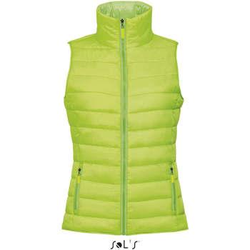 Textil Ženy Oblekové vesty Sols WAVE LIGHTWEIGHT WOMEN Verde