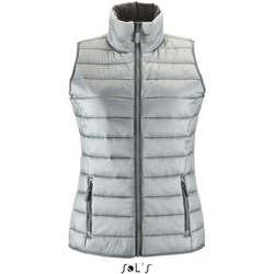 Textil Ženy Oblekové vesty Sols WAVE LIGHTWEIGHT WOMEN Plata
